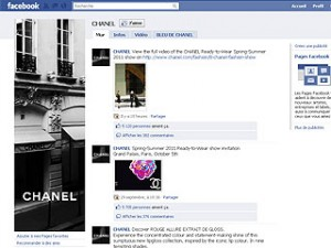 Chanel sur Facebook