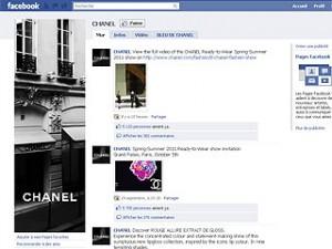 Chanel sur Facebook