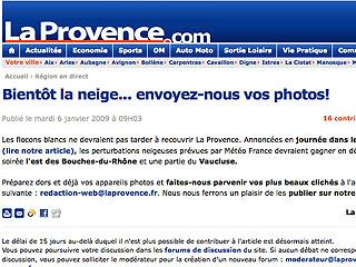animation La Provence