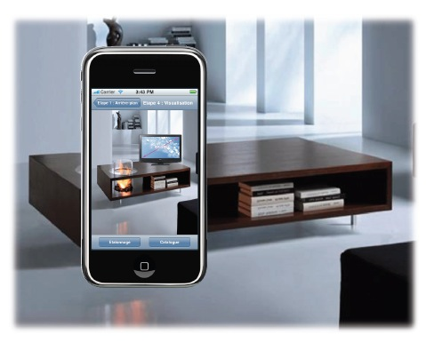 boulanger lance son application iphone avec r alit augment e decode media. Black Bedroom Furniture Sets. Home Design Ideas