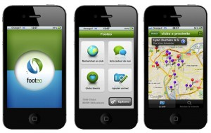 Application iPhone Footeo