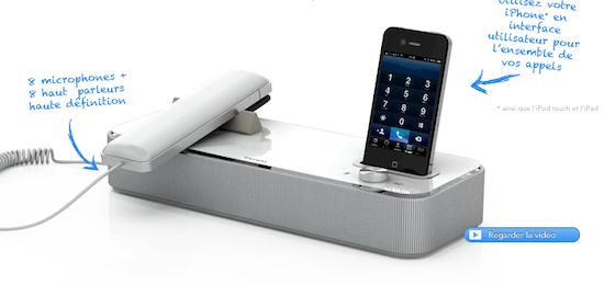 gadget de la semaine invoxia revisite la t l phonie au bureau. Black Bedroom Furniture Sets. Home Design Ideas