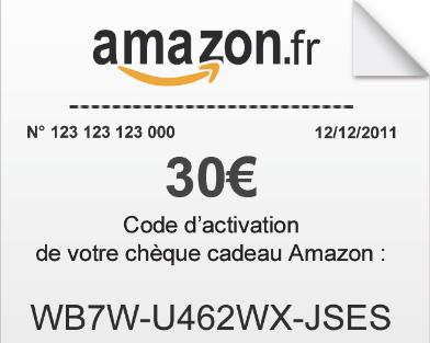 code cadeau amazon