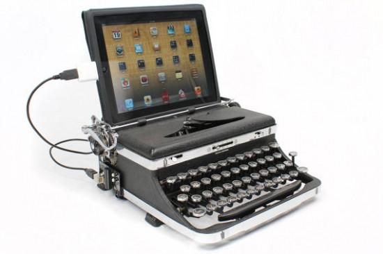 gadget de la semaine l 39 usb typewriter la machine crire 2 0 pour vos pc mac et tablettes. Black Bedroom Furniture Sets. Home Design Ideas