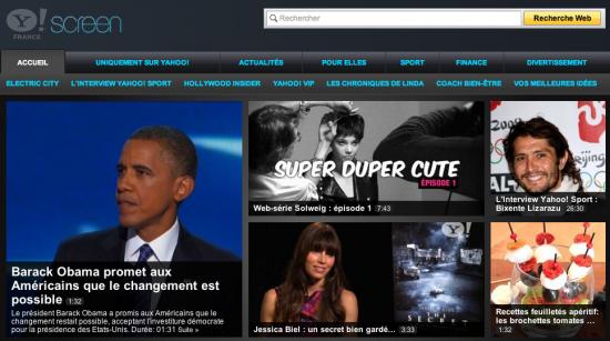 VIDEO. Yahoo lance une grille de rentrée digne d'une chaine de télévision
