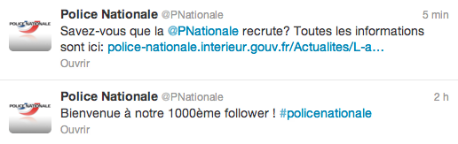 twitter police nationale