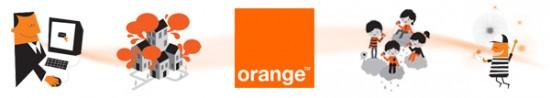 bandeau fast orange