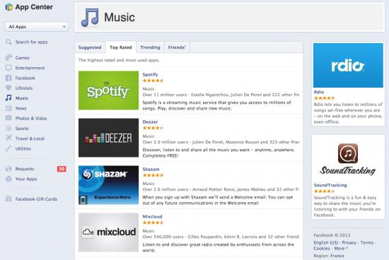 facebook-music-app