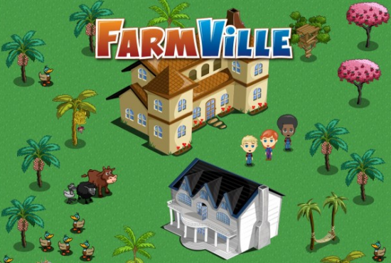 bandeau FArmville social gaming