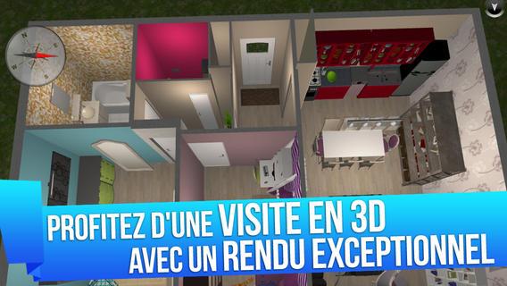 bon app 39 home design 3d application d 39 architecture et de d coration d 39 int rieur decode media. Black Bedroom Furniture Sets. Home Design Ideas