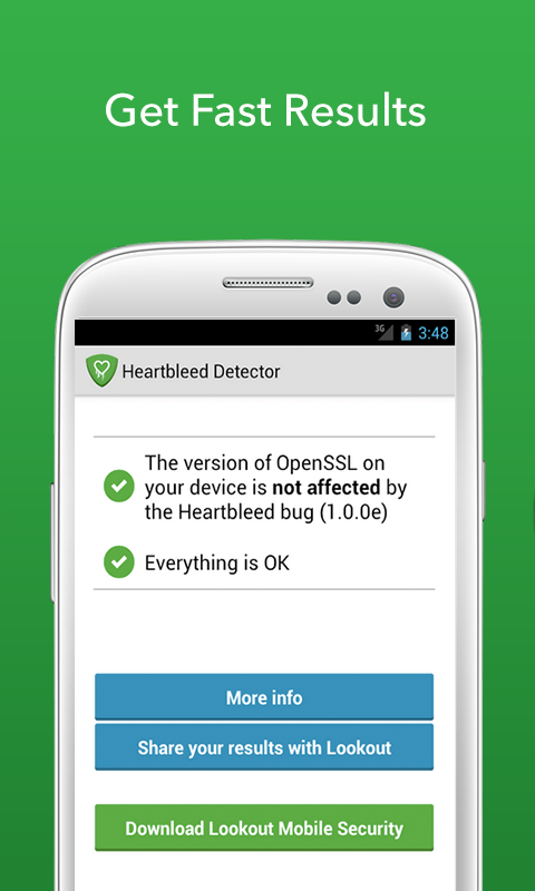 bon app heartbleed s curit scanner l app pour savoir si votre smartphone android est. Black Bedroom Furniture Sets. Home Design Ideas