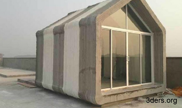 Imprimante 3d une soci t chinoise construit 10 maisons for Imprimante 3d geante maison