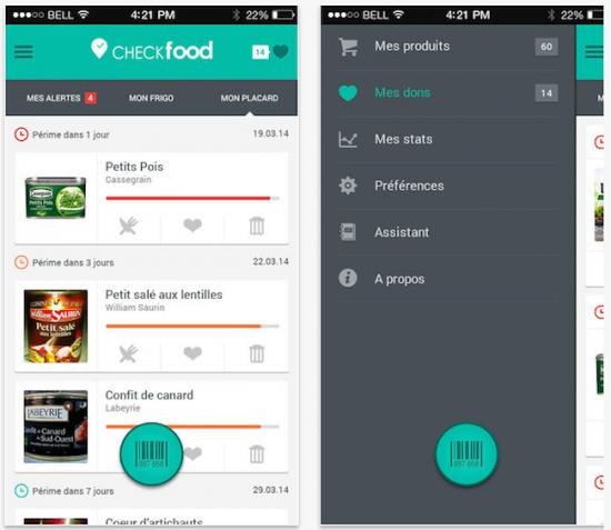 checkfood-alimentaire-application