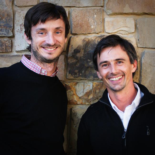 Sébastien Payen et Thibaut Scholasch, les deux fondateurs de Fruition Sciences