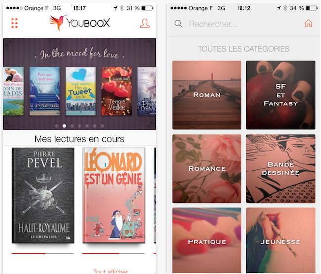Youboox - Application