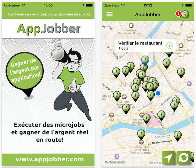 Appjobber - application