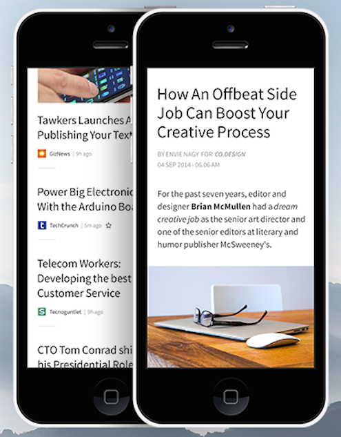 Zenfeed - application