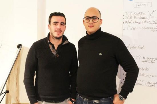 Romain Scuotto et Ramzi Laïb, le deux cofondateurs de YouFid. Crédit: YouFid.