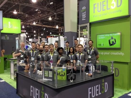 Fuel3D au CES2015