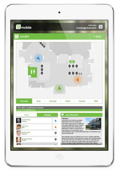 bon app ne plus se sentir perdu un v nement avec greengage mobile. Black Bedroom Furniture Sets. Home Design Ideas