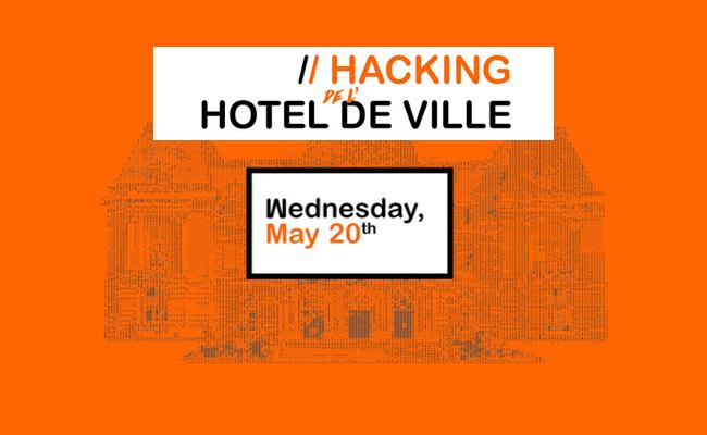 Hacking hôtel de ville