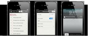 Reminders iOS5