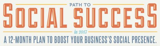 infographie social success