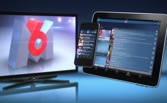 m6 second écran social tv