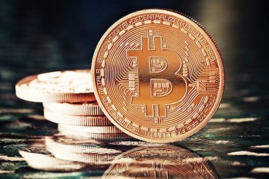 Photo Golden Bitcoins (new virtual money )