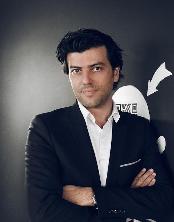 François Garcia, ici à la rédaction de Frenchweb, a fondé X-Prime en 2002. L'agence a été rachetée par JWT (groupe WPP) en 2014.