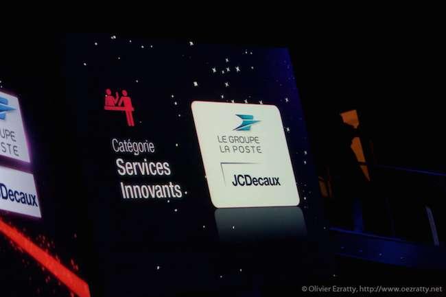 Quelques sponsors des Grands Prix de la Ville de Paris (ici en 2011).
