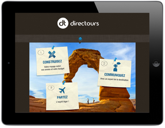 Directours - application photo1
